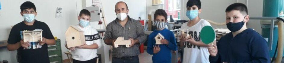 Projekte in der Holzwerkstatt